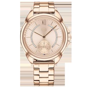 7a8896ff1d3 Relógio Tommy Hilfiger Feminino Aço Rosé - 1781989