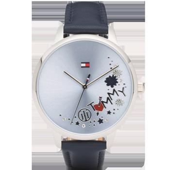 5234659d78b Relógio Tommy Hilfiger Feminino Couro Azul - 1781985