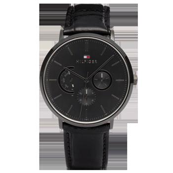 0599b1b67fe Relógio Tommy Hilfiger Masculino Couro Preto - 1710378