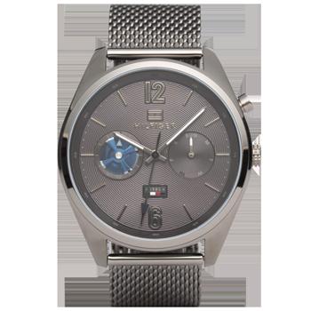 4a6da650490 Relógio Tommy Hilfiger Masculino Aço Cinza - 1791546
