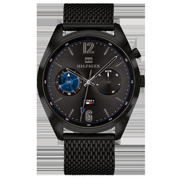 89b59ab2d7d Relógio Tommy Hilfiger Masculino Aço Preto - 1791547