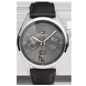 2f7505ebe55 Relógio Tommy Hilfiger Masculino Couro Preto - 1791548