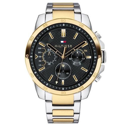 781bf81b048 Relógio Tommy Hilfiger Masculino Aço Prateado e Dourado - 1791559