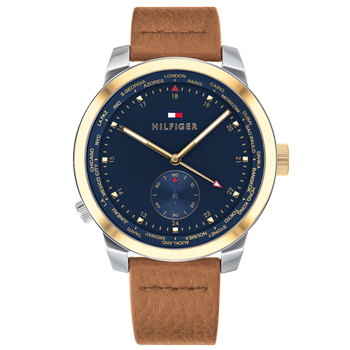 d42e27528a1 Relógio Tommy Hilfiger Masculino Couro Marrom - 1791553