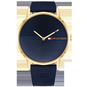08ee68d26c0 Relógio Tommy Hilfiger Feminino Borracha Azul - 1781968