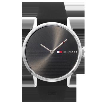 31a749d74fc Relógio Tommy Hilfiger Feminino Borracha Preta - 1782001