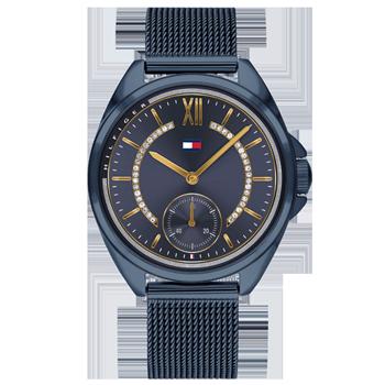 df8450e7206 Relógio Tommy Hilfiger Feminino Aço Azul - 1782004