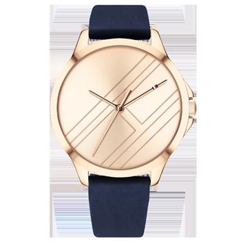 f27a8627b Relógio Tommy Hilfiger Feminino Borracha Azul - 1782058