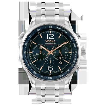 fdfed38b196 Relógio Vivara Masculino Aço - DS13737R0A-1