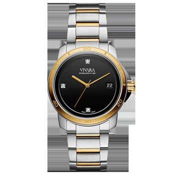 c8d573ce3d5 Relógio Vivara Feminino Aço Prateado e Dourado - DS13118R0B-4