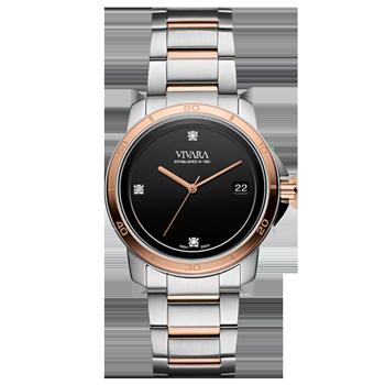 d00de7a8680 Relógio Vivara Feminino Aço Prateado e Rosé - DS13118R0C-4