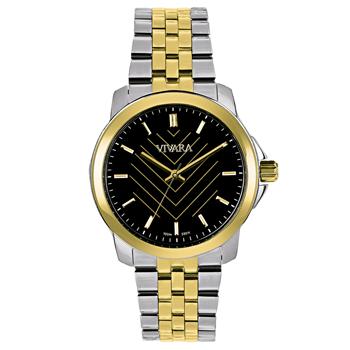 ef0be7102 Relógio Vivara Feminino Aço Prateado e Dourado - DS13693R0B-3