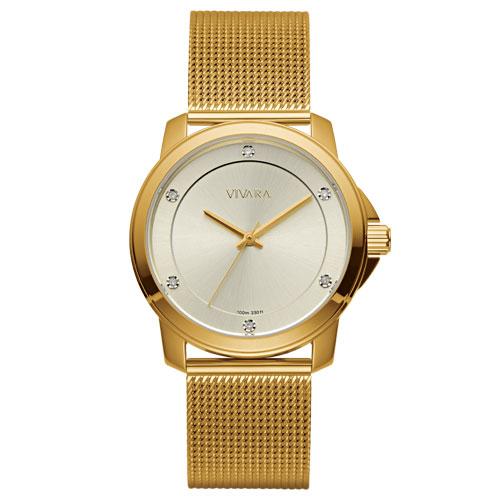 7f0e1fbd88e Relógio Vivara Feminino Aço Dourado - DS13694R0A-5