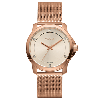 eb40ea4b058 Relógio Vivara Feminino Aço Rosé - DS13694R0B-5