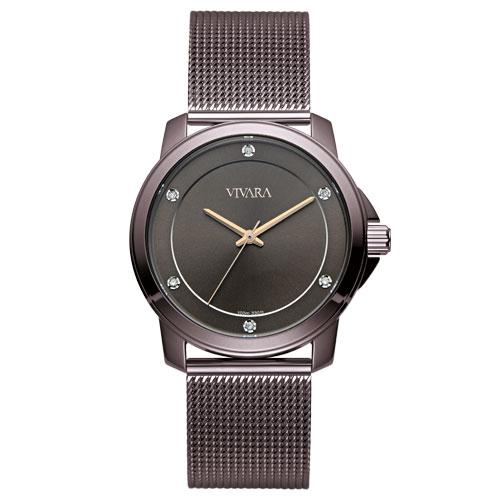 f93e6c574fb Relógio Vivara Feminino Aço Marrom - DS13694R0C-5