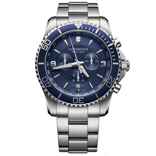 dc9f2f837c3 Relógio Victorinox Swiss Army Masculino Aço - 241689