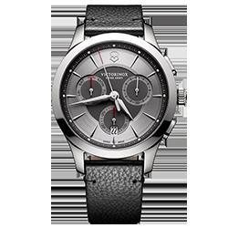 a51dcf4d4ca Relógio Victorinox Swiss Army Masculino Couro Preto - 241748