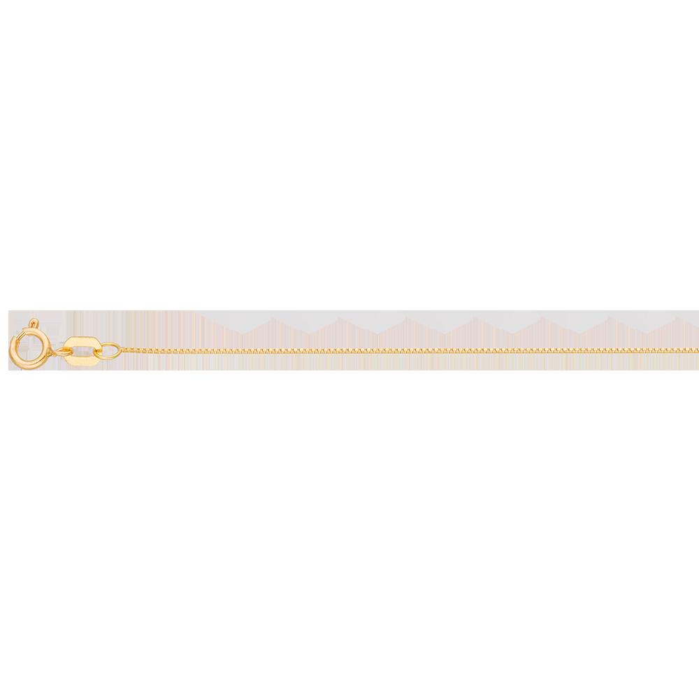 Corrente Ouro Amarelo 50 cm - Colecao Veneziana 521274e93c