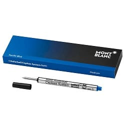 Refil Montblanc Pacific Blue Azul Rollerball 1 Uni - 113778