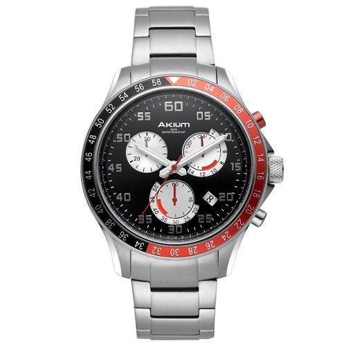 15637e5476e Relógio Akium Masculino Aço - G70730-PNP-BAND