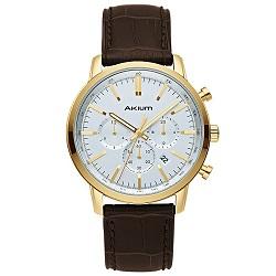 Relógio Akium Masculino Couro Marrom - 01X56GL06-IPG 42ee7d4d2f
