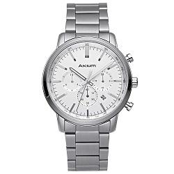 Relógio Akium Masculino Aço - 1X56GB08-VBSS-VD33 d6f626b505