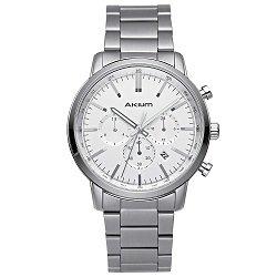e6600f0fbed Relógio Akium Masculino Aço - 1X56GB08-VBSS-VD33