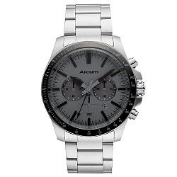 Relógio Akium Masculino Aço - 03E50GB04-GREY b5200b0eec