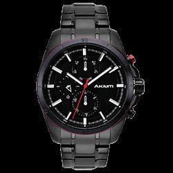 Relógio Akium Masculino Aço Preto - 03E42GB01-IPB 8f26ad94a1