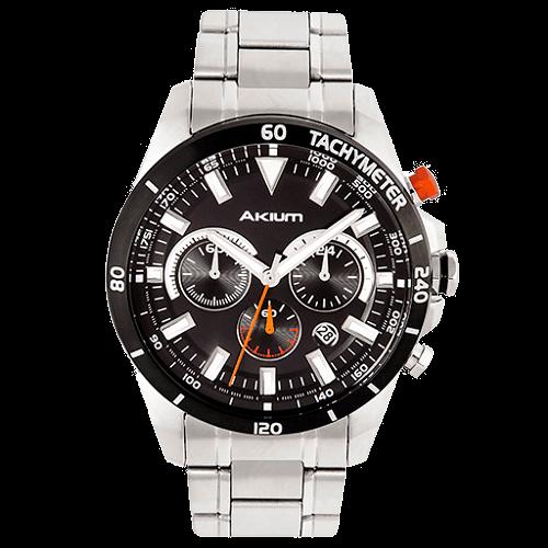 f19ae437eb8 Relógio Akium Masculino Aço - 03F12GB02A