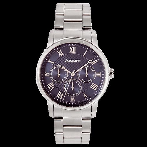 Relógio Akium Masculino Aço - 03E59GB03A f387b994af