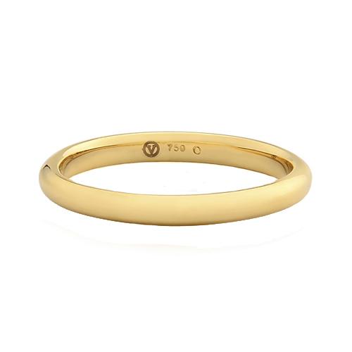 f5593a4a2cc Aliança de Casamento Ouro Amarelo - Colecao Bold