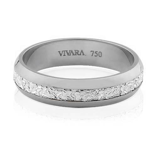f7a4b6c06ec2c Aliança de Casamento Ouro Branco - Colecao Bride