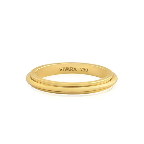 f955c6a8d5e Aliança de Casamento Ouro Amarelo - Colecao Love Me