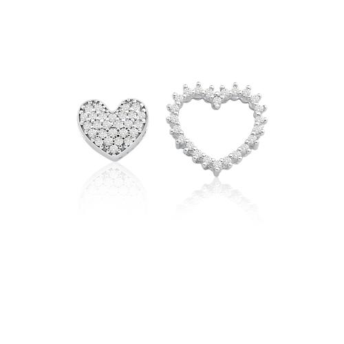 ffdc7b12a70b7 ... PingentesPingente coração ouro branco e diamantes - coleção amantes.  Passe o mouse para ampliar. Confira o estoque deste produto nas lojas