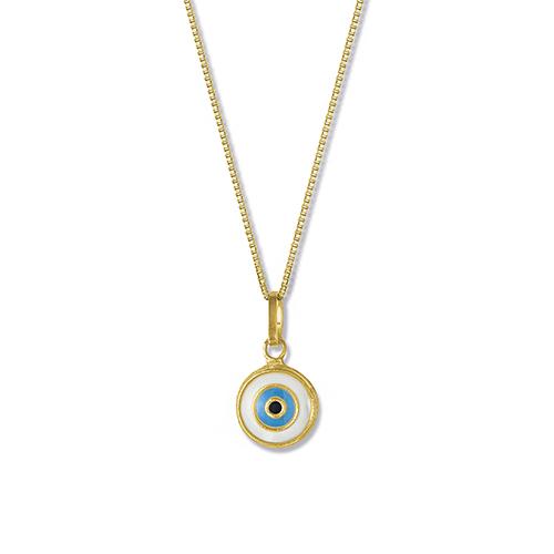 70a5c48e6d9fd Pingente Olho Grego Ouro Amarelo - Colecao Símbolo