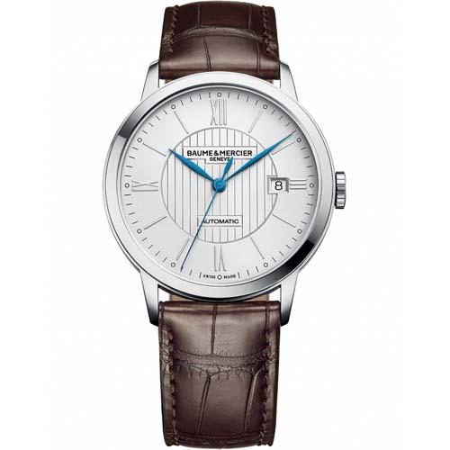 c564e4a13cc Relógio Baume   Mercier Masculino Couro Marrom - M0A10214