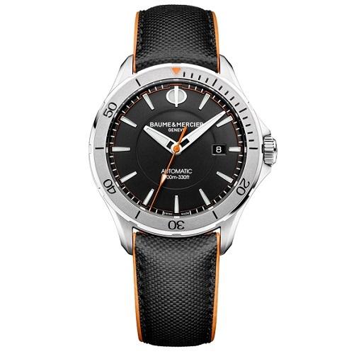 dc689e3346f Relógio Baume   Mercier Masculino Couro Preto - M0A10338