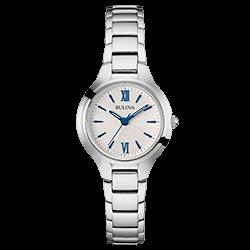ab64eb58699 Relógio Bulova Feminino Aço - 96L215