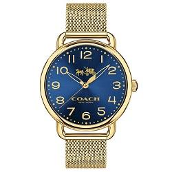 8d020e0a4ce Relógio Coach Feminino Aço Dourado - 14502665