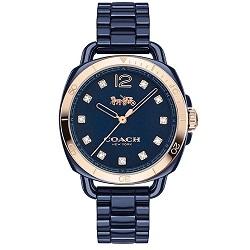35ecbc3402a Relógio Coach Feminino Cerâmica Azul - 14502753