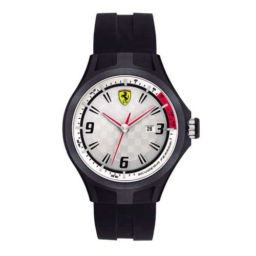 a22e29c453b Relógio Scuderia Ferrari Masculino Borracha Preta - 830001