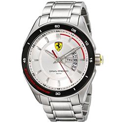95b0a47227d Relógio Scuderia Ferrari Masculino Aço - 830187