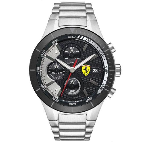 fedb0381764 Relógio Scuderia Ferrari Masculino Aço - 830263