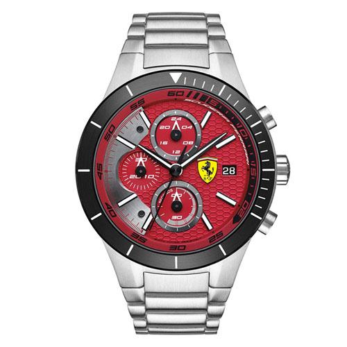 cc7d3d40ed4 Relógio Scuderia Ferrari Masculino Aço - 830269