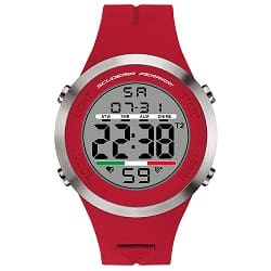 a561c934b98 Relógio Scuderia Ferrari Masculino Borracha Vermelha - 830370