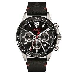 4c29d8a3bf9 Relógio Scuderia Ferrari Masculino Couro Preto - 830389
