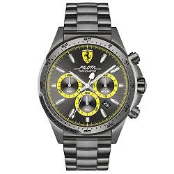 dce37550aac Relógio Scuderia Ferrari Masculino Aço Cinza - 830391