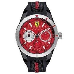0f140a3b6c7 Relógio Scuderia Ferrari Masculino Borracha Preta - 830437