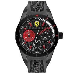 5f9d6c80eb1 Relógio Scuderia Ferrari Masculino Borracha Preta - 830439
